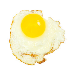 One fried egg