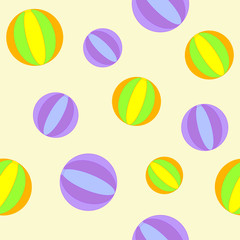 Background with balls