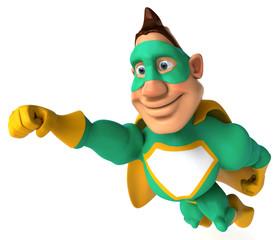 Superhéros vert