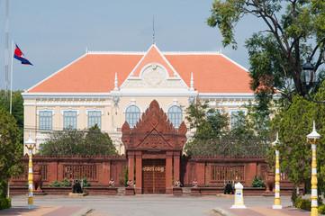 The provincial hall of Battambang, Cambodia