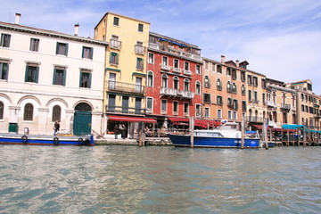 the streets of Venice