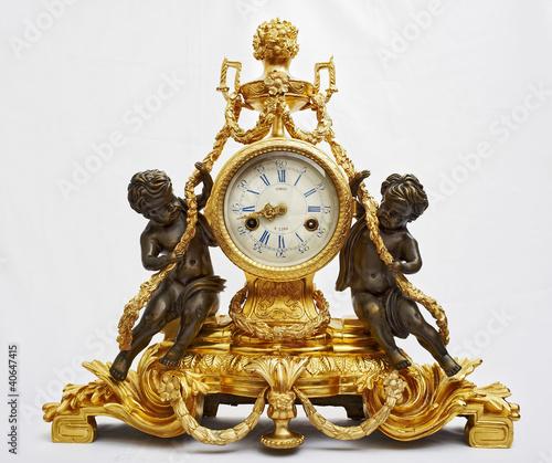 Бронзовые часы, канделябры купить в интернет