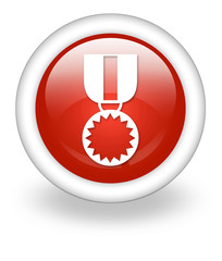 "Light Red Icon ""Award Medal"""