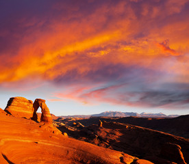 Stores photo Grenat Delicate Arch