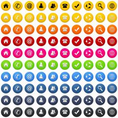 Web icons, buttons Sammlung