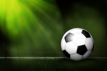 soccer ball filed.