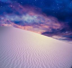 Twilight Sky Desert