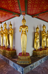 image of buddha in thailand temple
