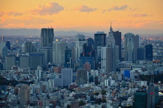 Tokyo - Shinjuku im Abendlicht