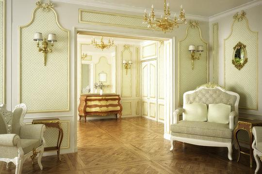 Barocke Luxus-Suite