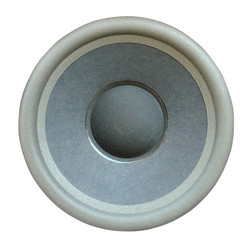 speaker diaphragm cone isolated on a white background