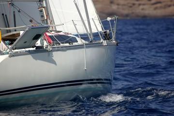 coque de voilier