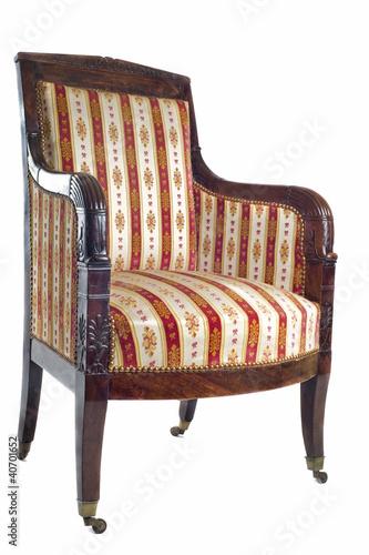 fauteuil ancien photo libre de droits sur la banque d 39 images image 40701652. Black Bedroom Furniture Sets. Home Design Ideas