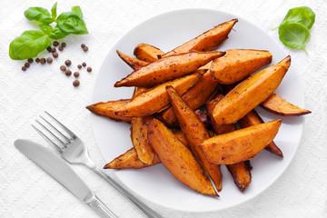 Süßkartoffelecken