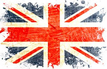 drapeau anglais decoupe