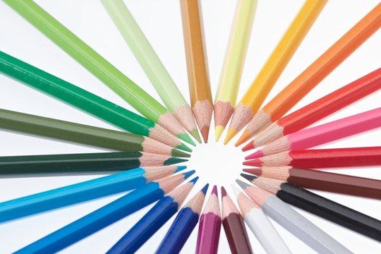 Matite colorate Circolare