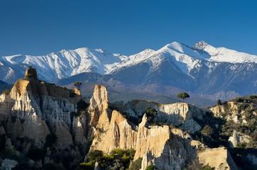 Le Canigou dans les Pyrénées Orientales