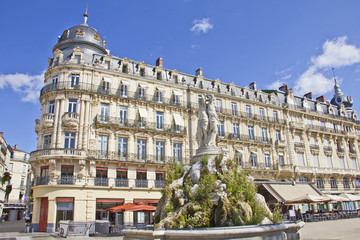 Place de la Comedie, Montpellier, France