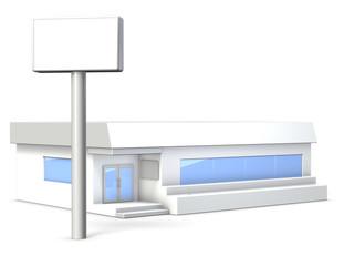 Architectural Model of Restaurant