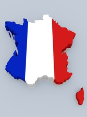bump map of France