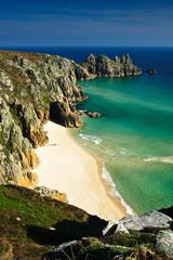 Pednvounder Beach, Cornwall, UK