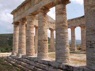 Tempel von Segesta in Sizilien