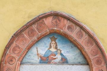 St. Maria in Cortina church. Piacenza. Emilia-Romagna. Italy.