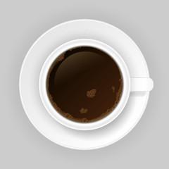 Coffe cap. Vector illustration.