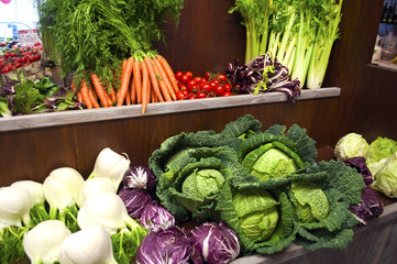 summer fruit-vegetables-vegetables shop