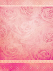 vintage roses background