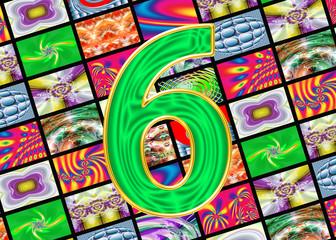 Телевидение и интернет технологии. Цифра шесть