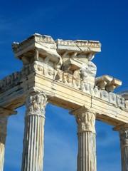Apollon-Tempel in Side, Antalya.