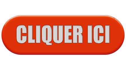 Button orange Seiten rund CLIQUER ICI