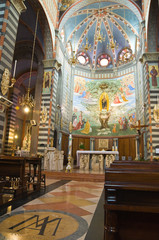 Sanctuary of Our Lady of the Oak. Bettola.Emilia- Romagna.Italy.