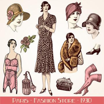 Fashion store 1930