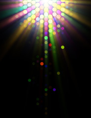 Abstract Illustration of Light Effects