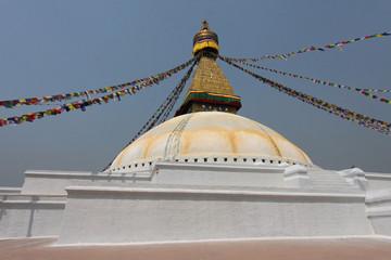 Le grand stupa de Bodnath