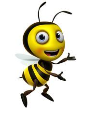 Wall Murals Sweet Monsters cartoon bee