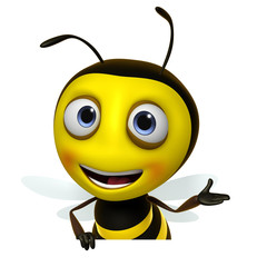 Papiers peints Doux monstres honey bee