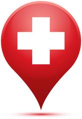 Pin Switzerland Flag