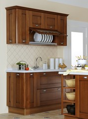 Kitchen buffet with white ware