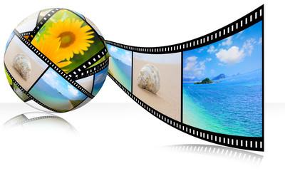 3D film strip images,Photo World