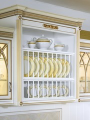 Kitchen case with beautiful ware