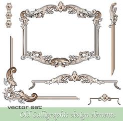 Calligraphic design elements 20