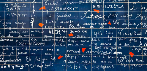 """I love you"" in 311 languages"