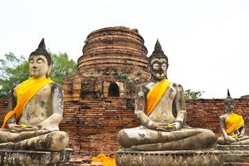 Buddha statue at historical park, Thailand