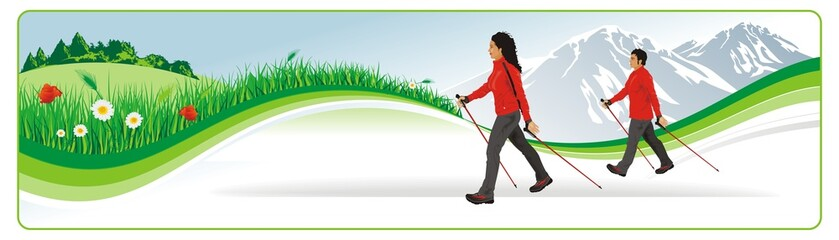 nordic walking header
