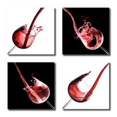 Composition d'images de verres de vin