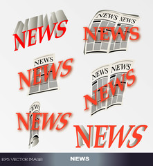 eps Vector image:  NEWS