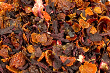 Holunder-Hibiskus-Tee
